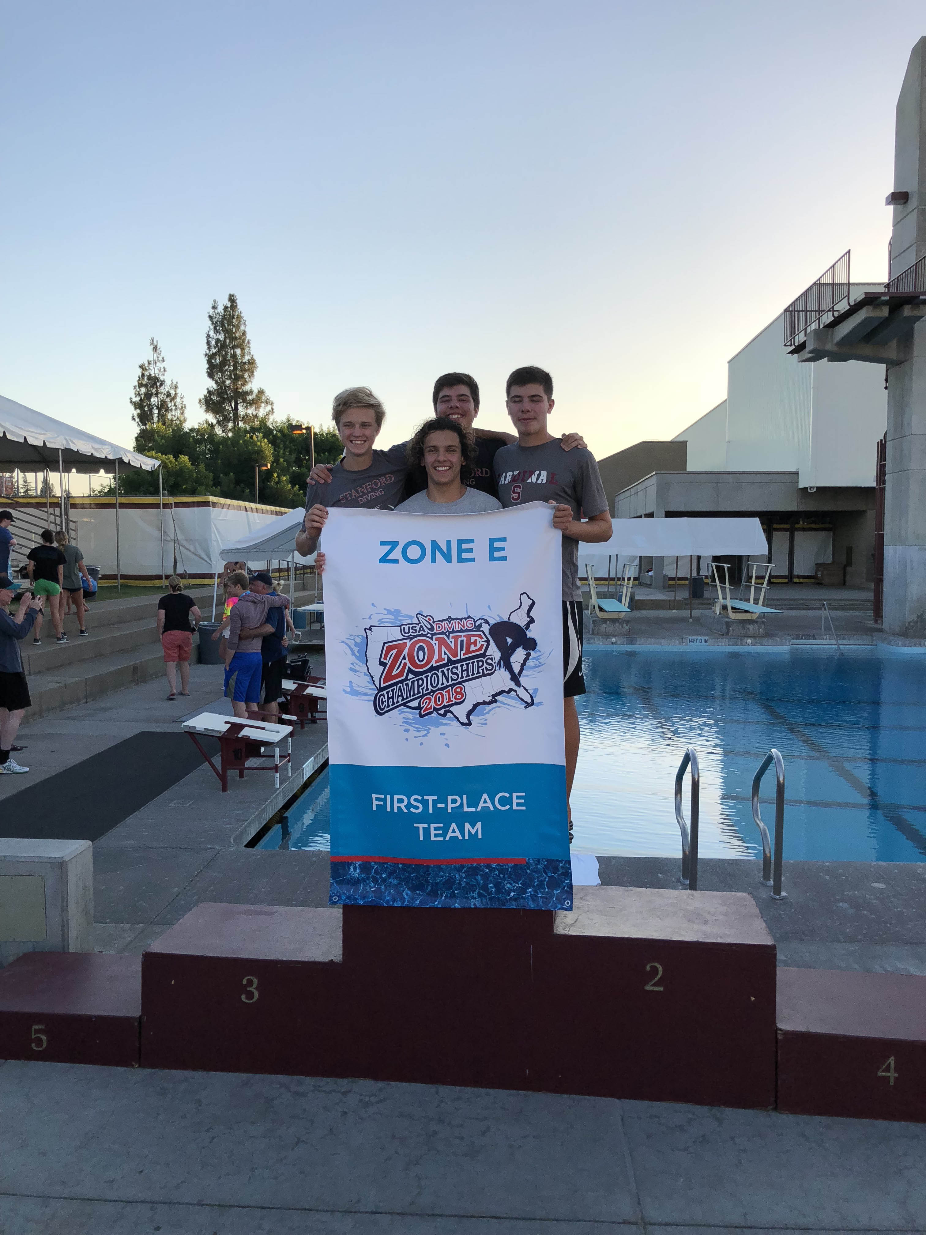 2018 USA Diving Zone E - Stanford Diving Site